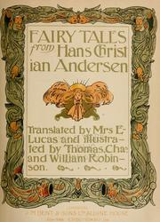 Fairy tales from Hans Christian Andersen by Hans Christian Andersen