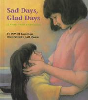 Cover of: Sad days, glad days | DeWitt Hamilton