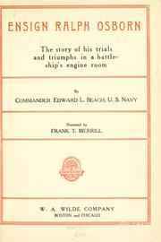 Cover of: Ensign Ralph Osborn