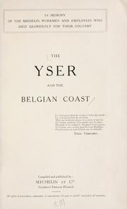 Cover of: The Yser and the Belgian coast ... by