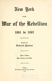 New York in the war of the rebellion, 1861 to 1865.