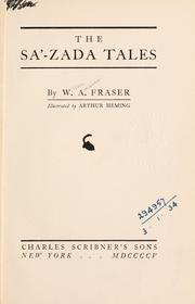 Cover of: The Sa'-zada tales