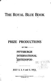 Cover of: The royal blue book