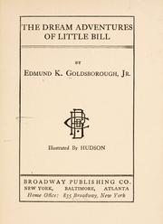 Cover of: The dream adventures of little Bill