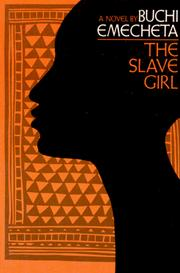 Cover of: The slave girl