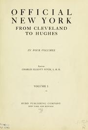 Cover of: Official New York, from Cleveland to Hughes