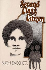 Cover of: Second-class citizen