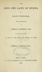 Cover of: The life and land of Burns