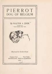 Cover of: Pierrot, dog of Belgium