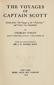 Cover of: The voyages of Captain Scott
