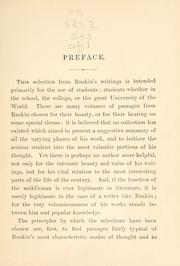 Cover of: An introduction to the writings of John Ruskin