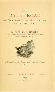 Cover of: The Bath road | Harper, Charles G.