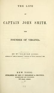 Cover of: The life of Captain John Smith