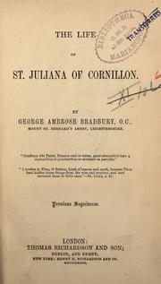 Cover of: The life of St. Juliana of Cornillon