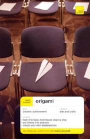 Cover of: Teach yourself origami