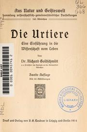 Cover of: Die Urtiere