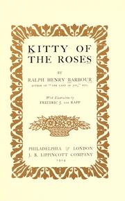 Cover of: Kitty of the roses