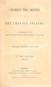 Cover of: Charles the Second in the Channel Islands
