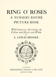 Cover of: Ring o' roses