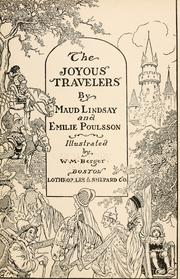 Cover of: The joyous travelers