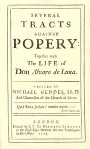 Cover of: Several tracts against popery