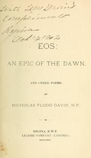 Cover of: Eos