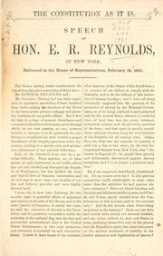 Cover of: The Constitution as it is