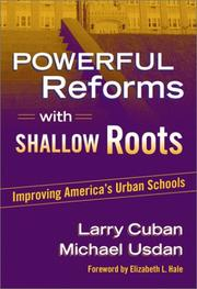 Cover of: Powerful reforms with shallow roots by