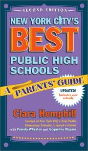 Cover of: New York City's Best Public High Schools