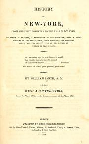Cover of: History of New-York