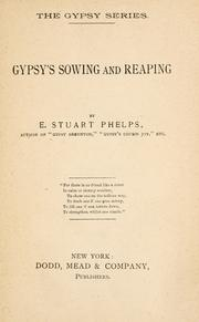 Cover of: Gypsy's sowing and reaping