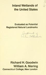 Cover of: Inland wetlands of the United States
