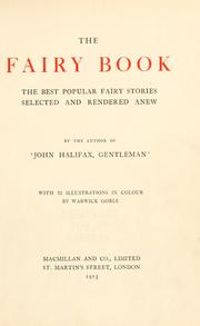 Cover of: The fairy book by Dinah Maria Mulock Craik