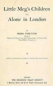 Cover of: Little Meg's children and Alone in London