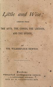 Cover of: Little and wise