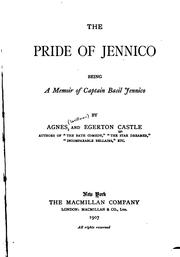 Cover of: The pride of Jennico