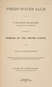 Cover of: Fresh-water Algae of the United States