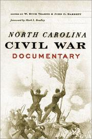 Cover of: North Carolina Civil War documentary |