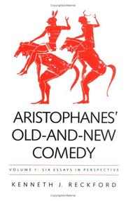 Cover of: Aristophanes' old-and-new comedy