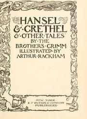 Cover of: Hansel & Grethel & other tales
