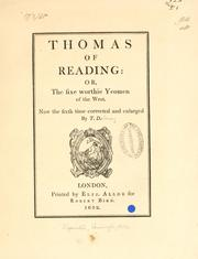 Cover of: Thomas of Reading