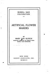 Cover of: Artificial flower makers