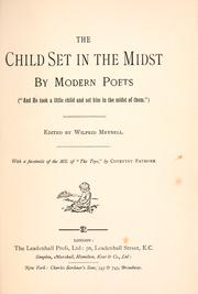 Cover of: The child set in the midst by modern poets