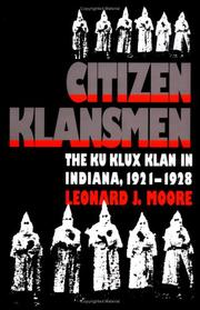Cover of: Citizen klansmen
