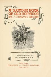 Cover of: A wonder book of old romance