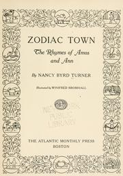 Cover of: Zodiac town