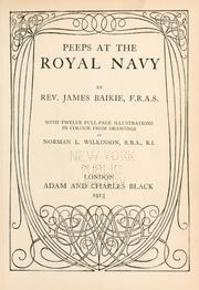 Cover of: Peeps at the royal navy