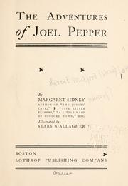 Cover of: The Adventures of Joel Pepper