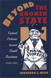 Cover of: Beyond the broker state