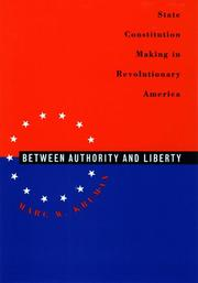 Cover of: Between authority & liberty